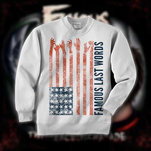 America White Crewneck Sweatshirt