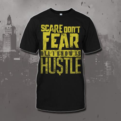 Hustle Black T-Shirt