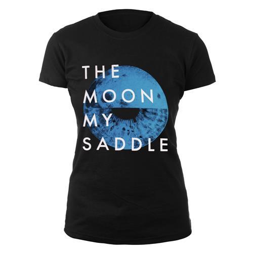 Moon My Saddle Black Girl's T-Shirt