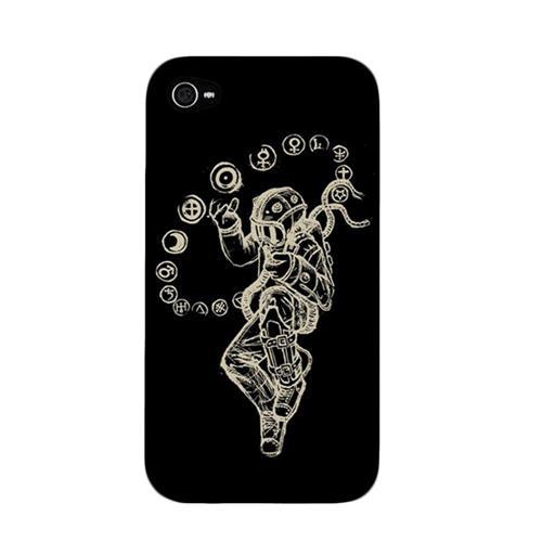 Starman Black iPhone 4 Case