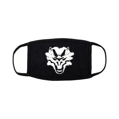 Wolf Black Mask