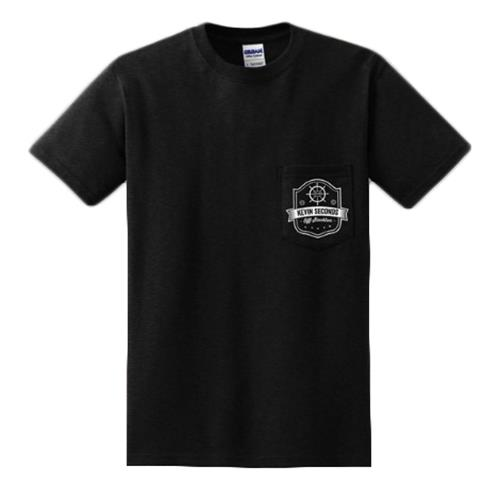 Off Stockton Black Pocket T-Shirt