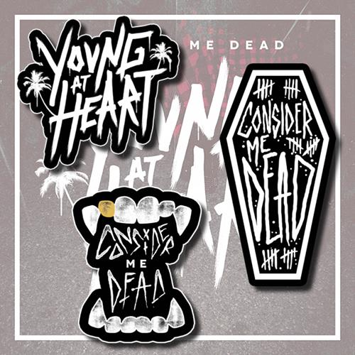 Consider Me Dead - Young At Heart Sticker Pack (3)
