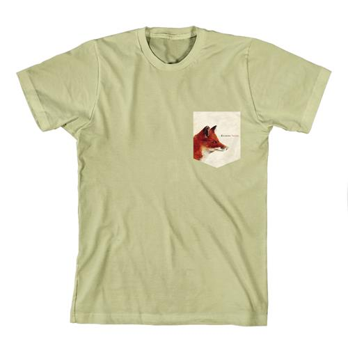 Emarosa - Fox Pocket Print Khaki Pocket T-Shirt