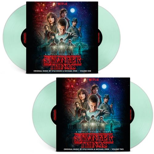 Volume 1/Volume 2 Glow In The Dark Green Vinyl 4Xlp