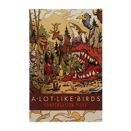 A Lot Like Birds Conversation Piece Poster