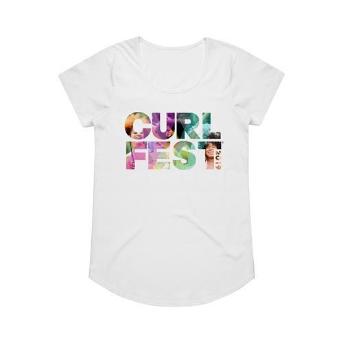 Logo White Girl's T-Shirt