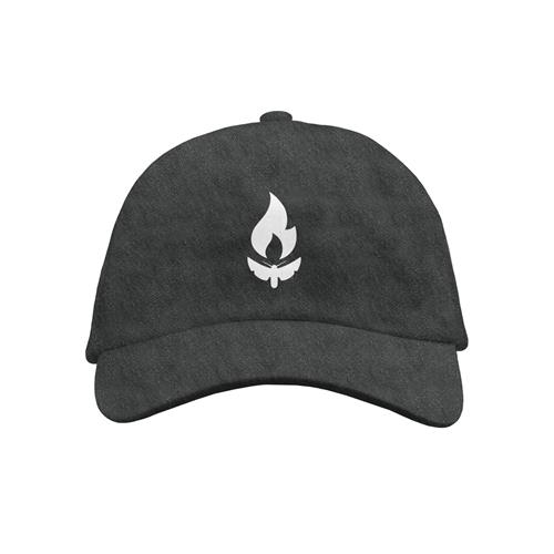 Simple Moth Charcoal Dad Hat