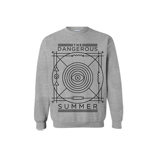 Eye Heather Gray Crewneck Sweatshirt