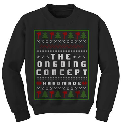 Ugly Handmade Christmas Black Crewneck
