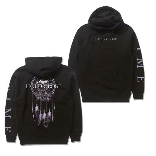 Time Catcher Black Pullover