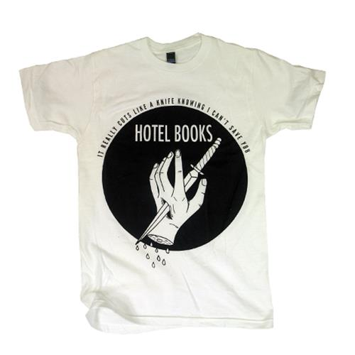 Cuts Like A Knife White T-Shirt