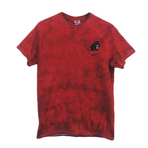 Flip The Rat Embroidered Crystal Red