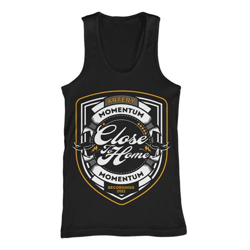 Momentum Shield Black Tank Top