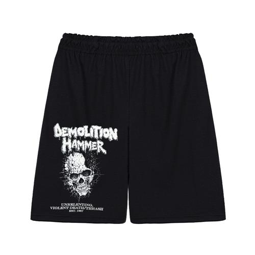 Unrelenting, Violent Death/Thrash Black Shorts