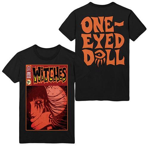 Ember (Orange Comic) Black T-Shirt