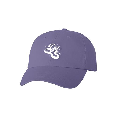 Sparkle Logo Lavender Dad Hat