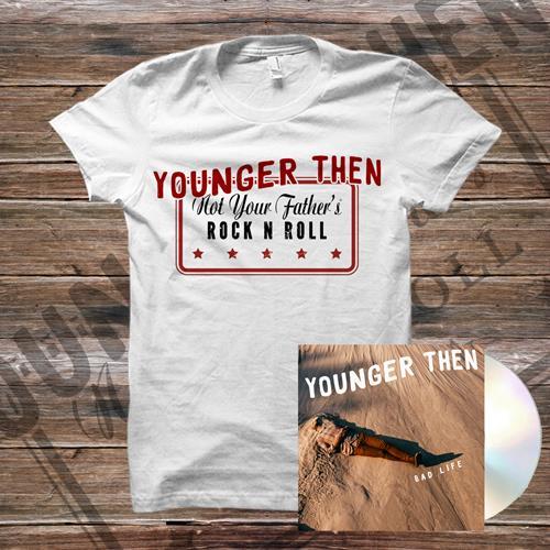 Bad Life CD + T-Shirt