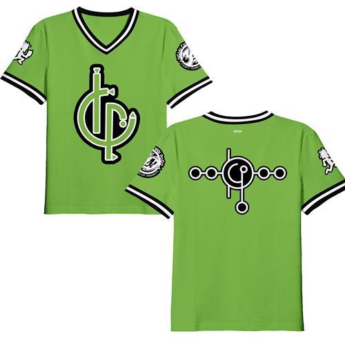 The Calm Green Baseball
