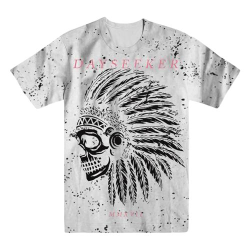 Indian Skull White Speckle