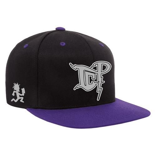 ICP Logo Tempest Black-Purple Snapback