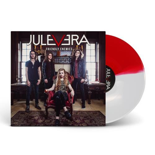 Friendly Enemies Half Blood Red/Half White Vinyl LP