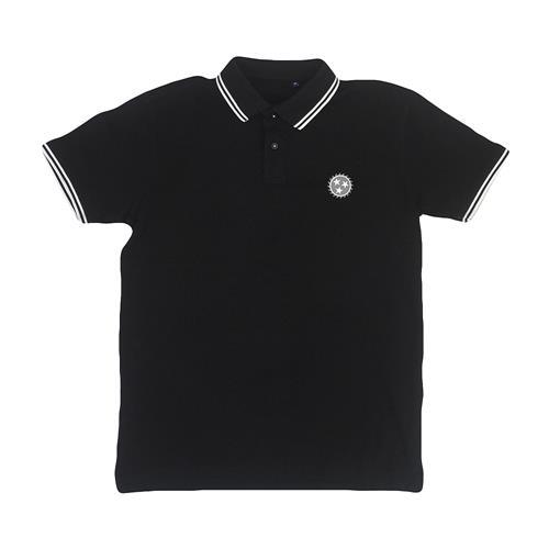 Sawblade Embroidered Black