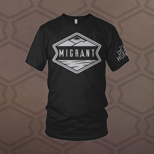 Migrant Black T-Shirt