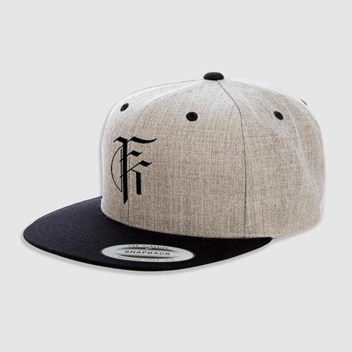 Icon Logo Heather Grey/Black