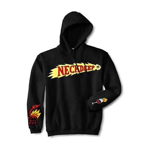 Shooting Eye Black Hooded Sweatshirt
