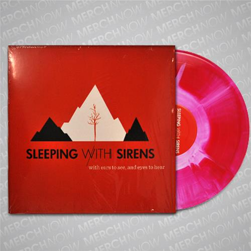With Ears To See & Eyes To Hear Red / White Starburst LP
