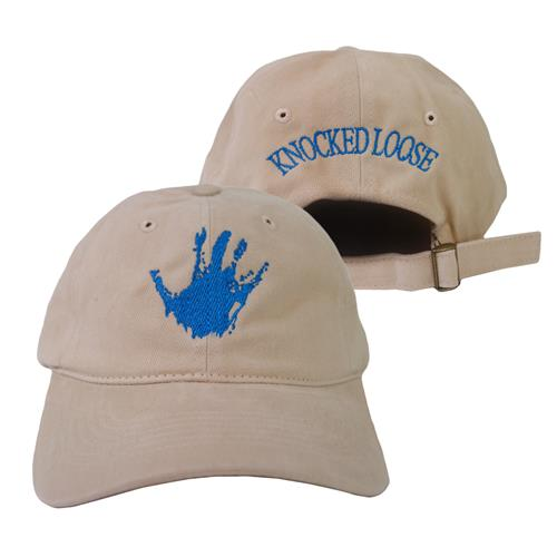 A Different Shade Of Blue Khaki Dad Hat