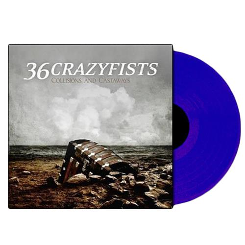 Collisions And Castaways Clear Blue LP