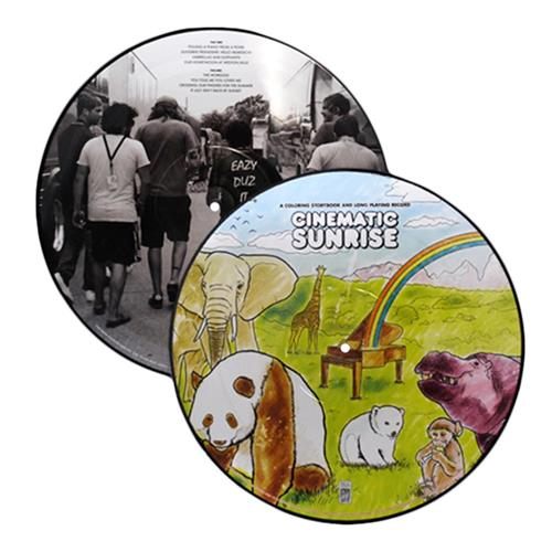 A Coloring Story Book...Picture Disc