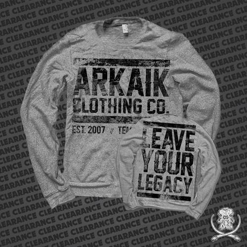 Leave Your Legacy Heather Grey
