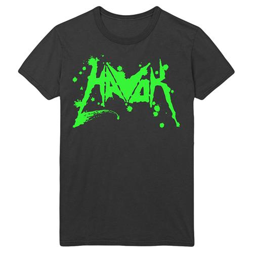 Blood Logo (Green) Black