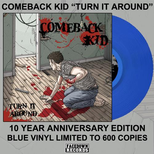 Turn It Around Blue LP