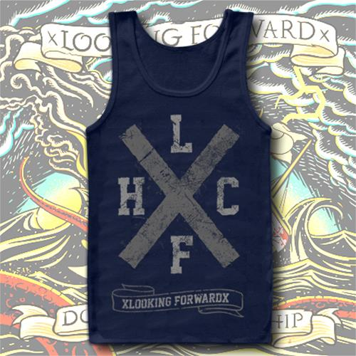 Big X Navy Tank Top