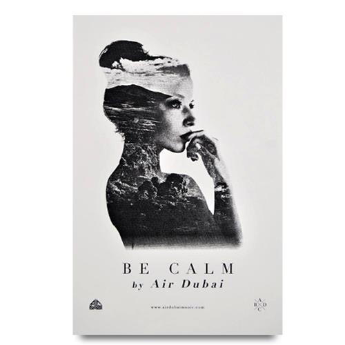 Be Calm 12.5x19