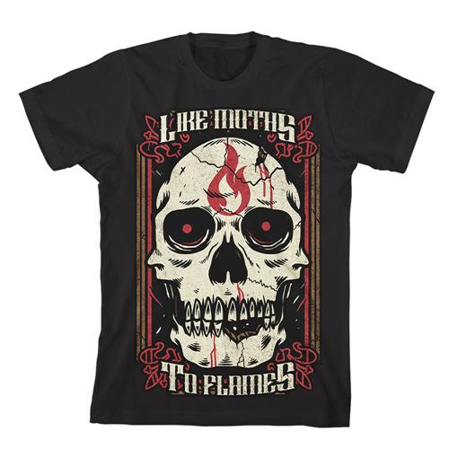 Flame Skull Black