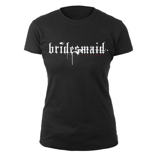 Bridesmaid Black Girl Shirt