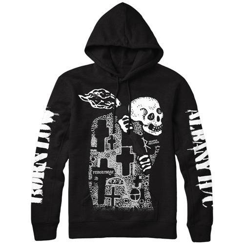 Crosses & Skull Black
