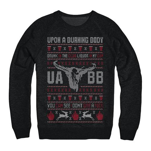Turn Down Holiday Sweater