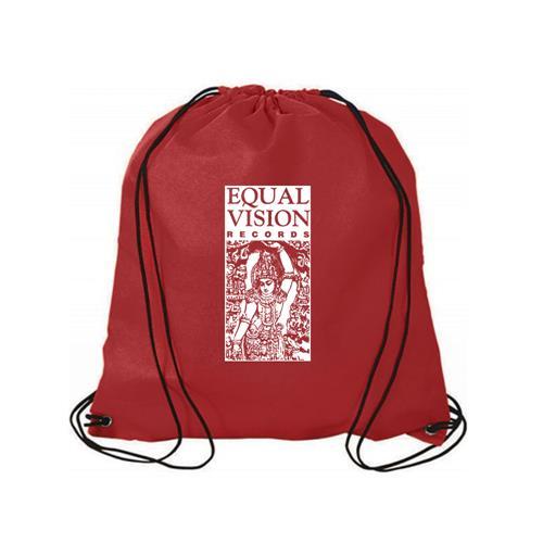 Logo Red Cinch Bag