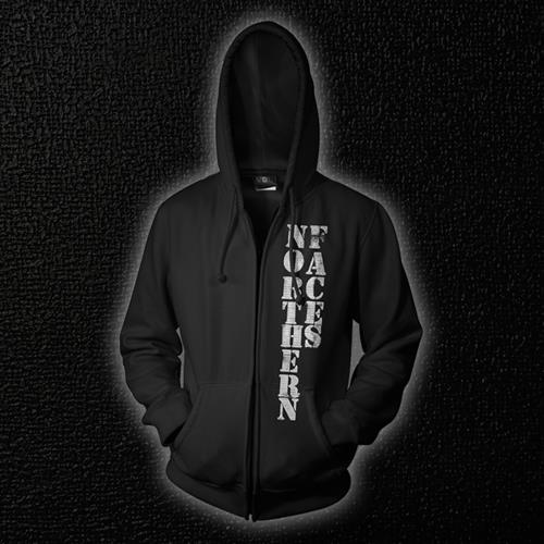 Logo Black Zip-Up