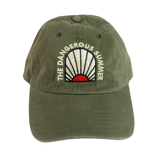 Sunrise Mineral Olive Dad Hat