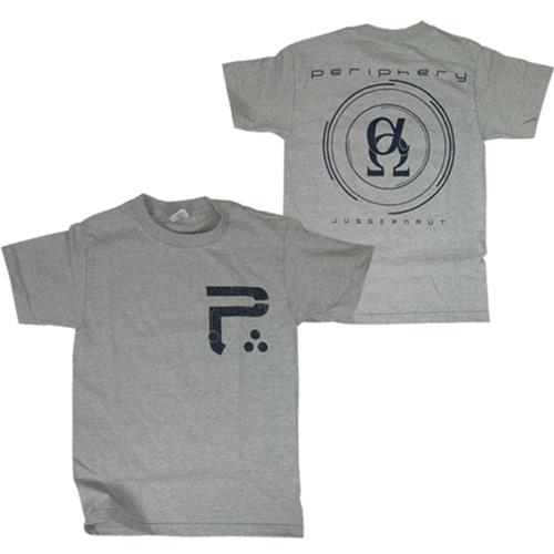 Alpha Omega Heather Grey T-Shirt