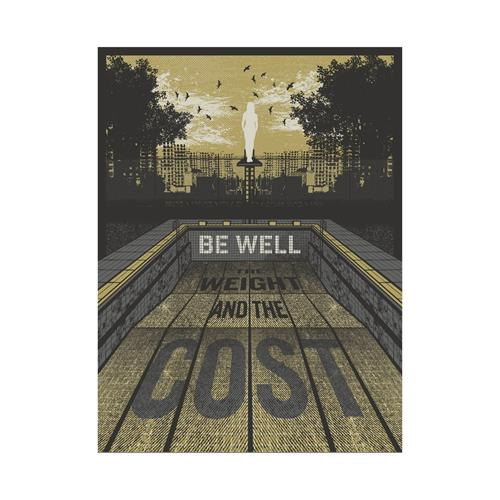 Be Well - 18X24 Screen Printed