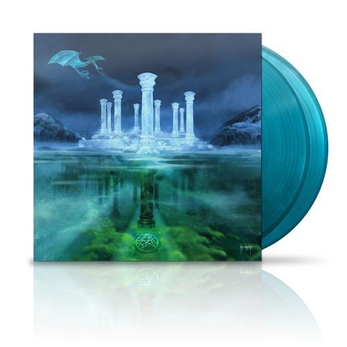 Turquoise Blue Vinyl 2xLP