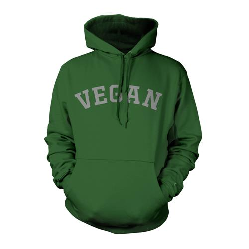Vegan Green Hooded